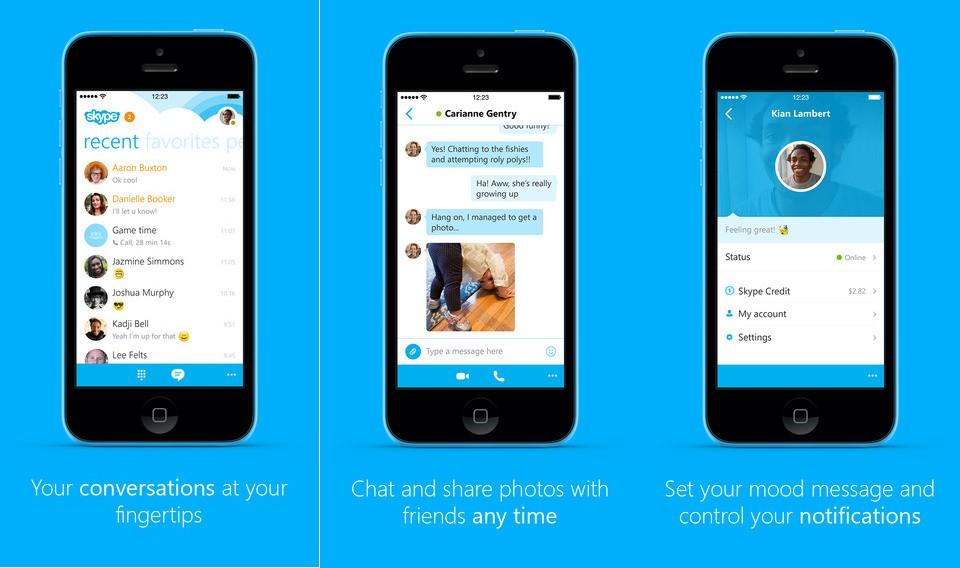 Skype su iOS – Come Funziona?