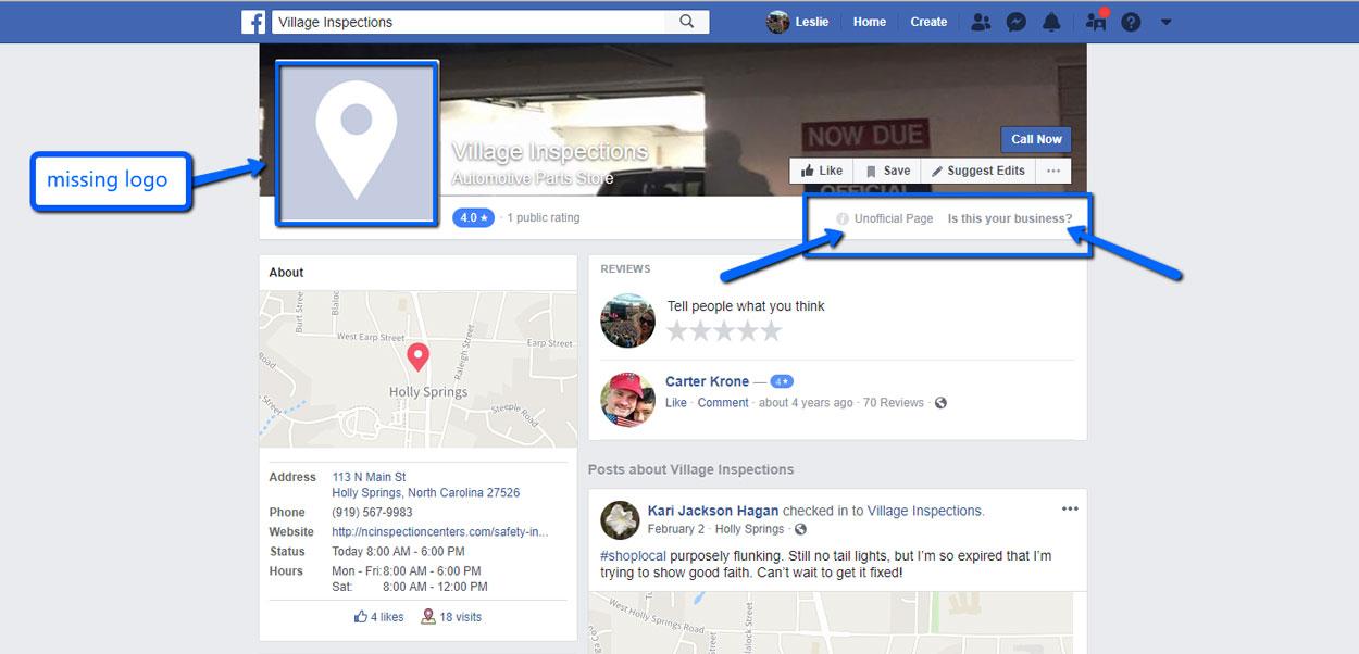 Come modificare informazioni della pagina Facebook