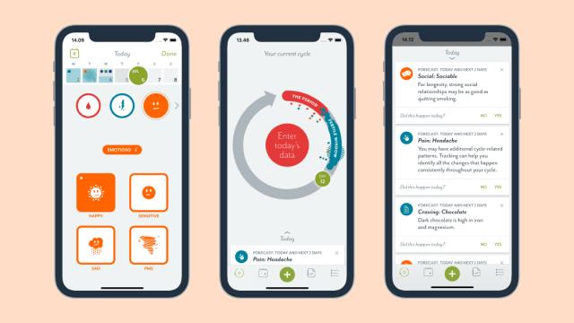 Clue app per monitorare il ciclo