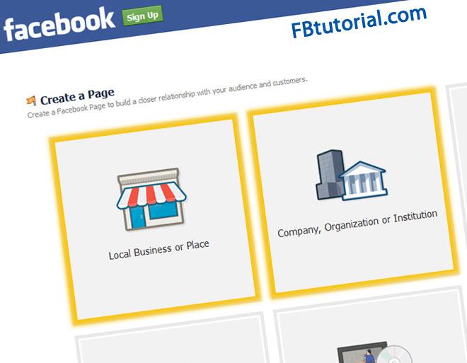 Come creare una pagina Facebook per una istituzione