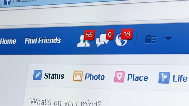 Sezione persone suggerite di Facebook