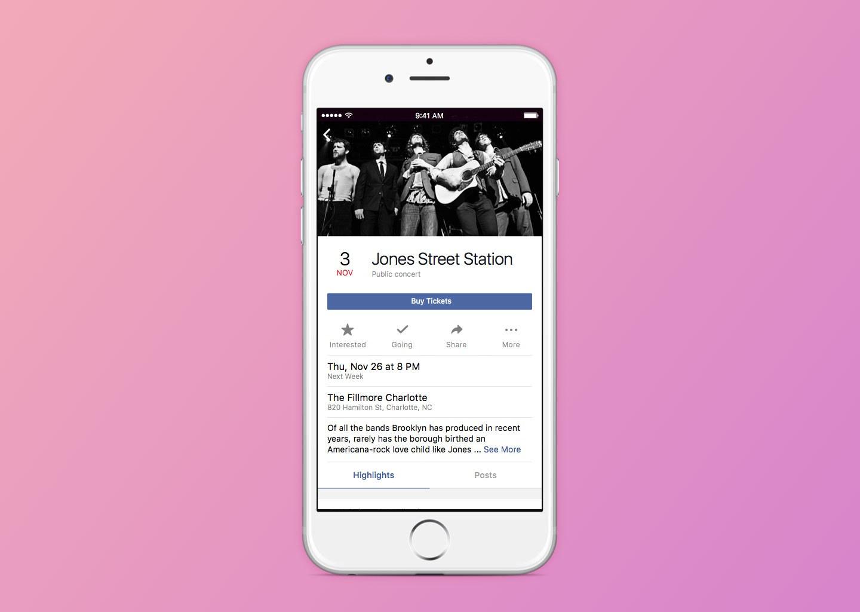 Avvenimento importante di Facebook