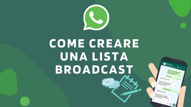 Come creare una lista broadcast-WhatsApp